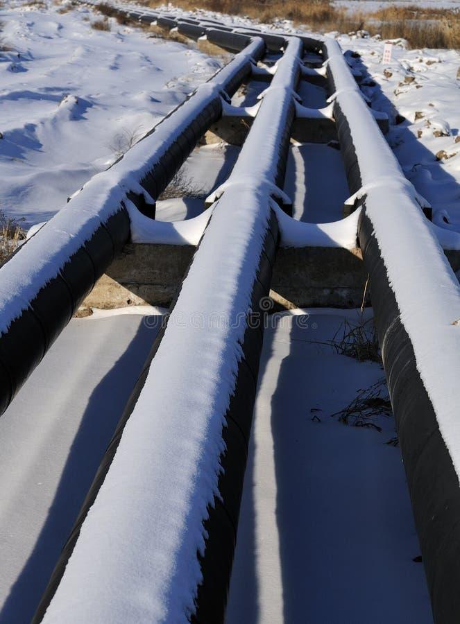 Olje- pipeline arkivbilder