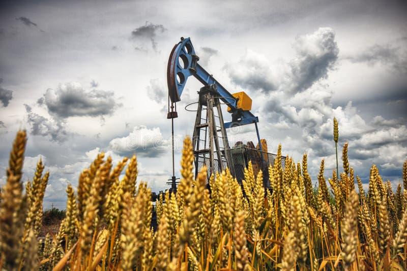 Olje- pump arkivfoto