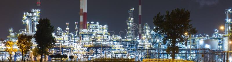 Olje- Rafinery arkivbilder