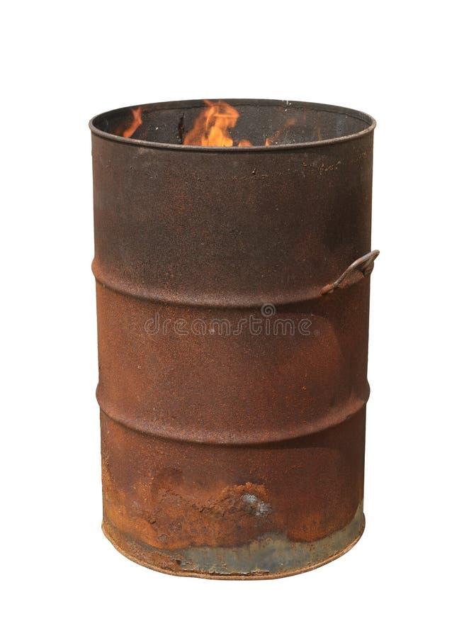 Olje- trumma royaltyfri bild