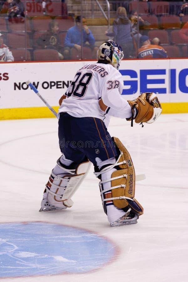 oljekannor phoenix för nhl för prärievargedmonton hockey royaltyfri fotografi
