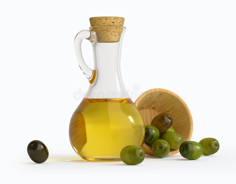 oljeolivgrönolivgrön royaltyfri foto