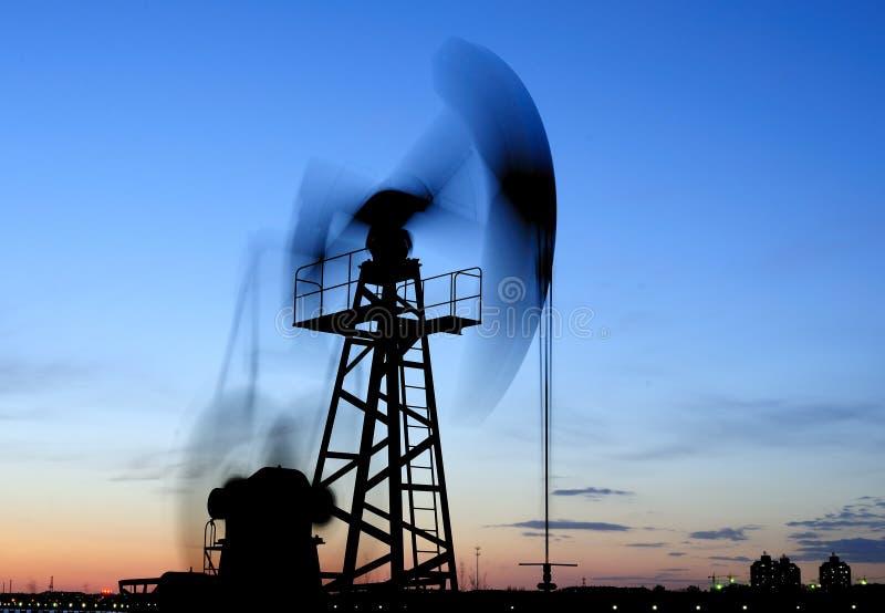 oljepump fotografering för bildbyråer