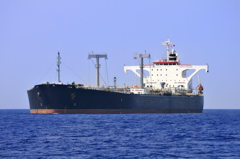 oljeshiptankfartyg arkivbild