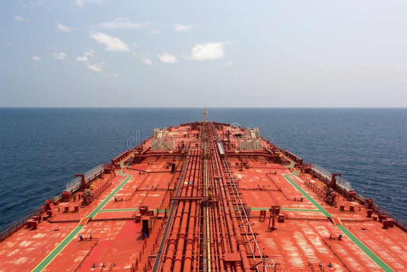 Oljetankerrörledning royaltyfria bilder