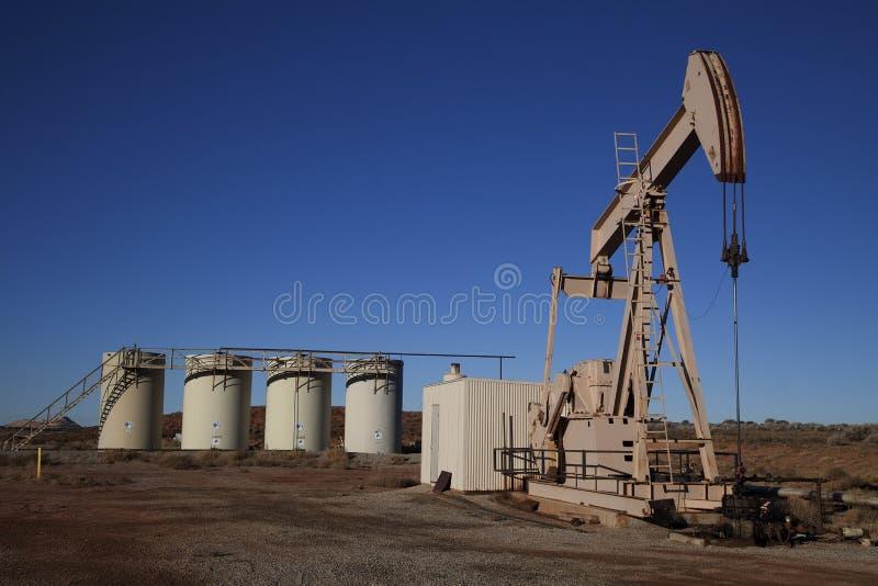 oljewell arkivbild