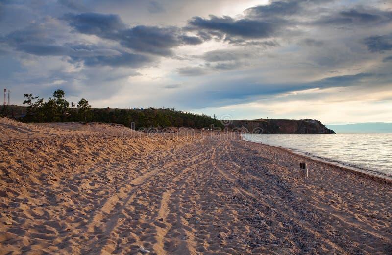 Olkhon ö, Lake Baikal arkivbilder