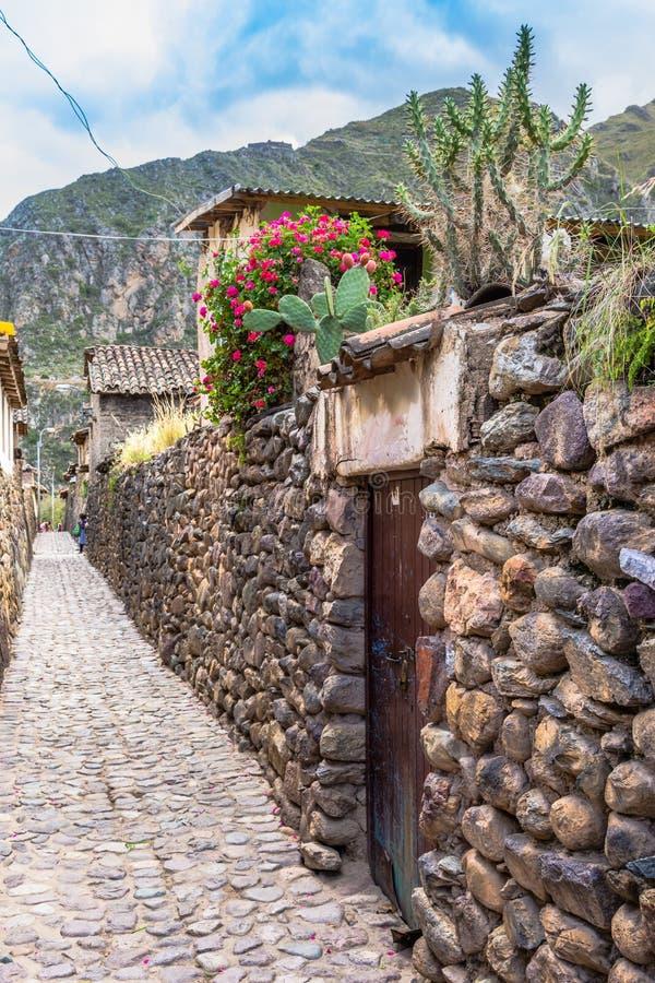 Ollantaytambo, Cusco, Περού στοκ εικόνα