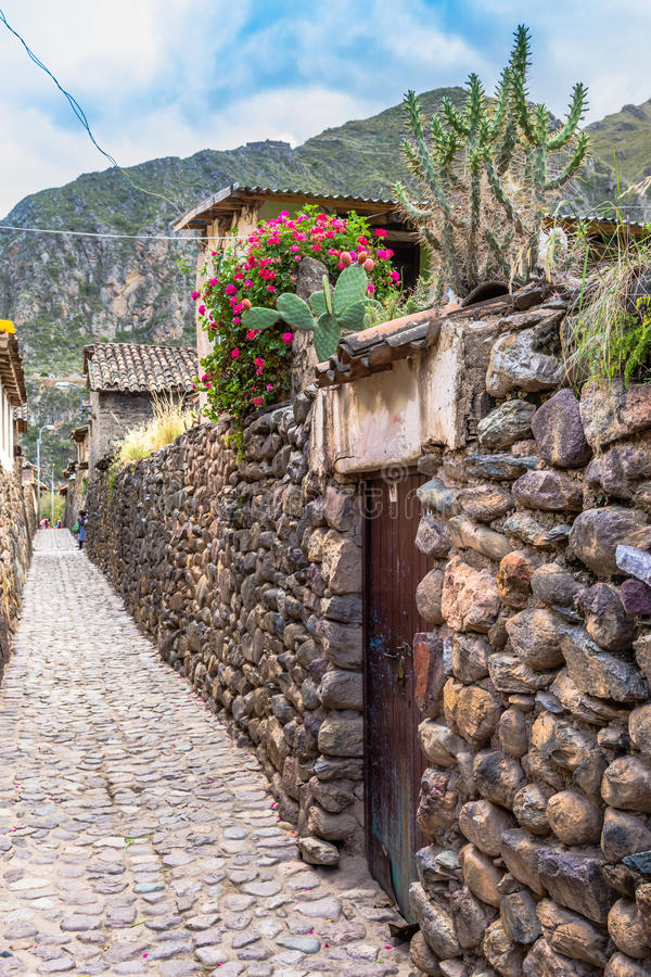 Ollantaytambo, Cusco, Pérou image stock