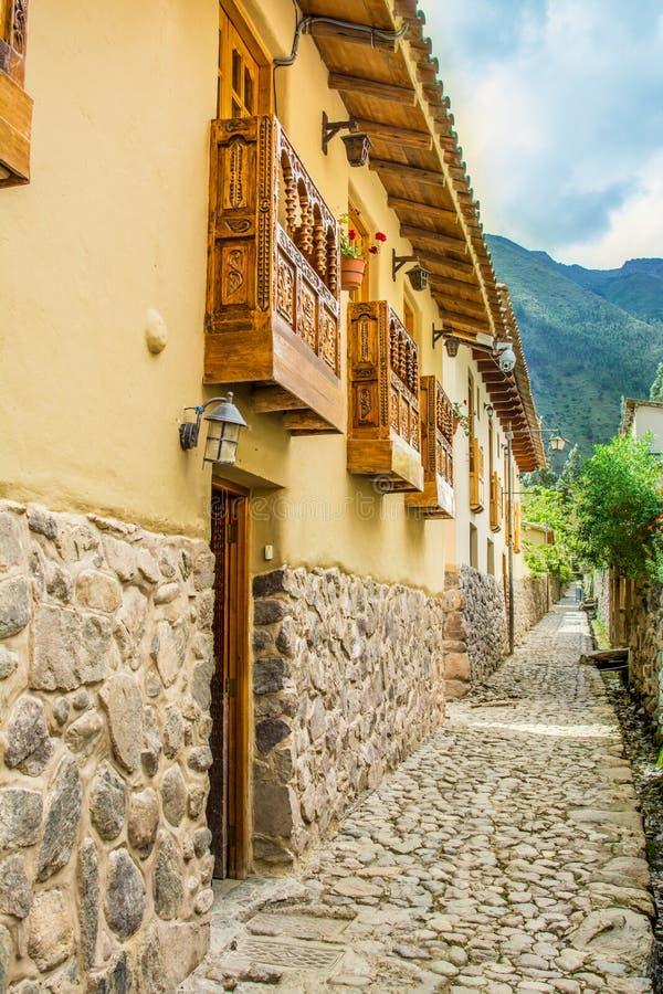 Ollantaytambo, Cusco, Peru stock afbeelding