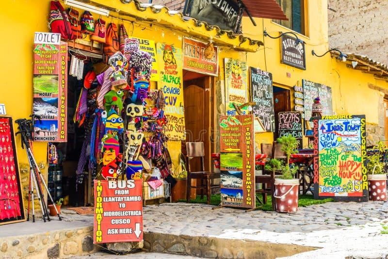 Ollantaytambo, Cusco, Peru stock foto's