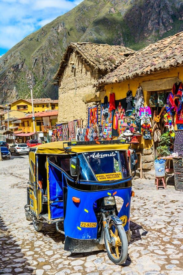 Ollantaytambo, Cusco, Peru stock foto