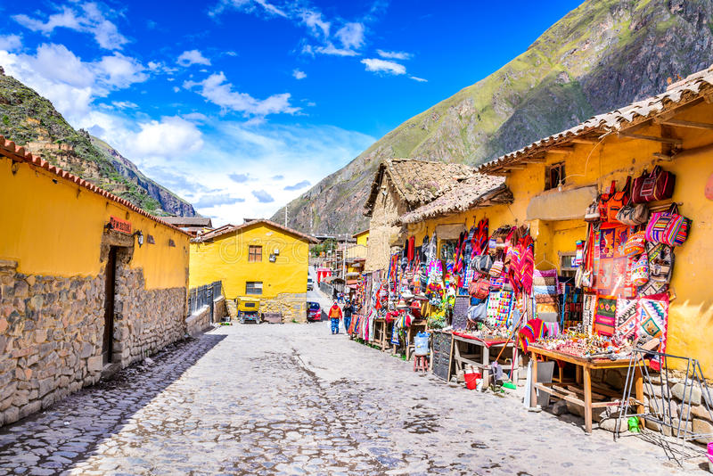 Ollantaytambo, Cusco, Peru royalty free stock photo