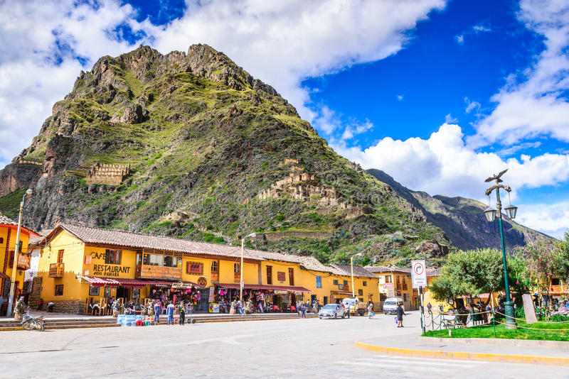 Ollantaytambo, Cusco, Peru royalty free stock photography