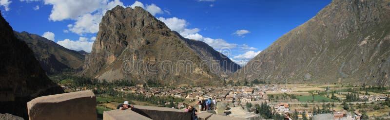 Ollantaytambo, Perú foto de archivo