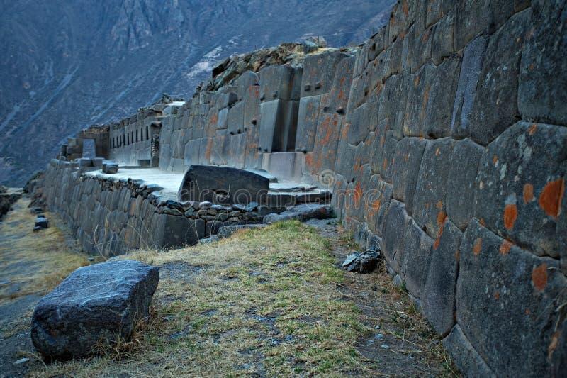 Ollantaytambo Perú foto de archivo