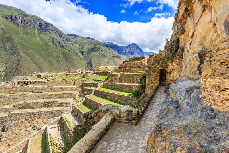 Ollantaytambo, Perú foto de archivo libre de regalías