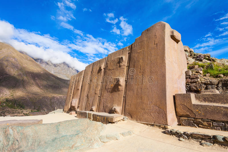 Ollantaytambo Ruins royalty free stock images