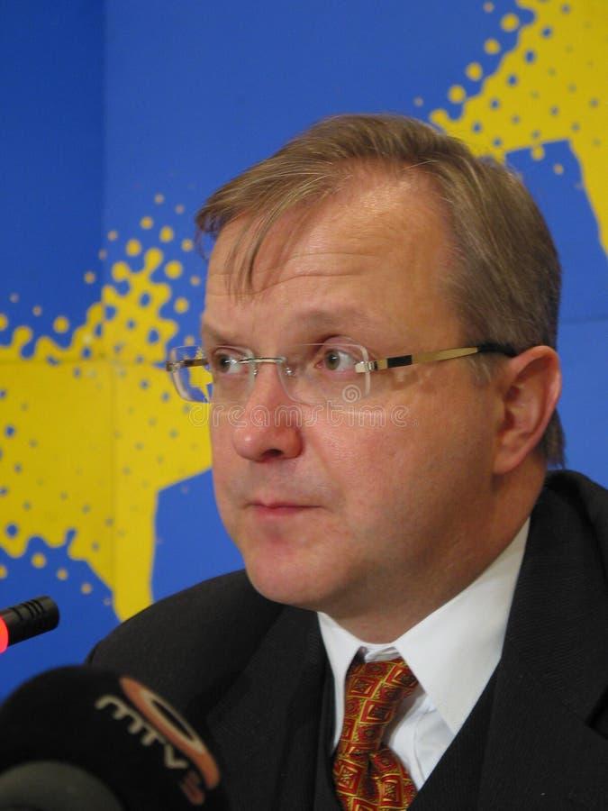 Olli Rehn Editorial Photo