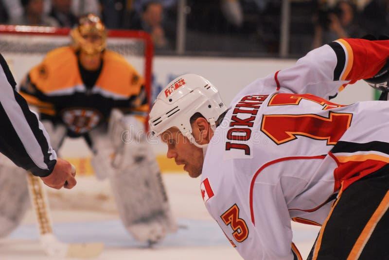 Ollie Jokinen Calgary Flames photo stock