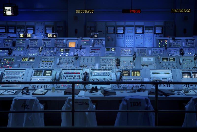 A [ollo 8发射控制室 免版税库存图片