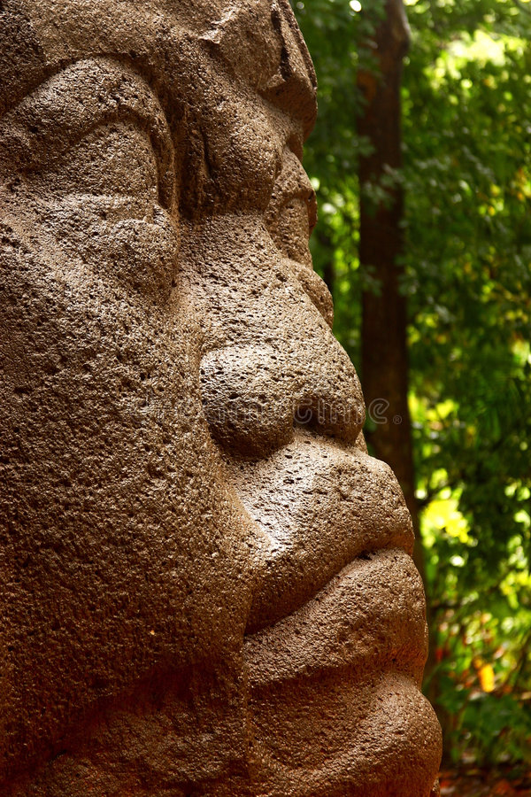 Olmec royalty free stock image