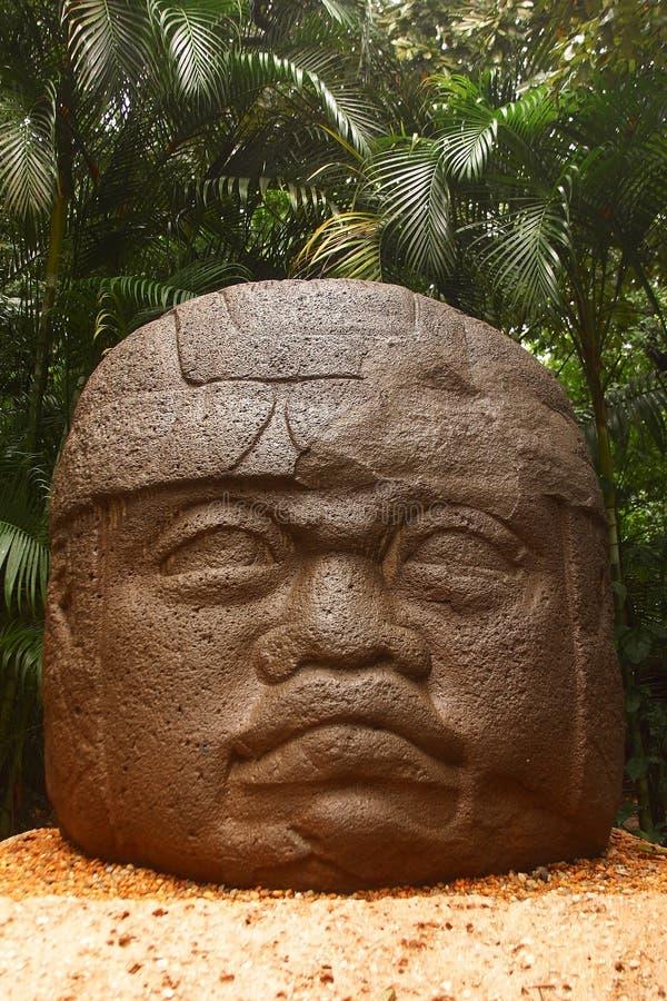 Olmec royalty free stock photography
