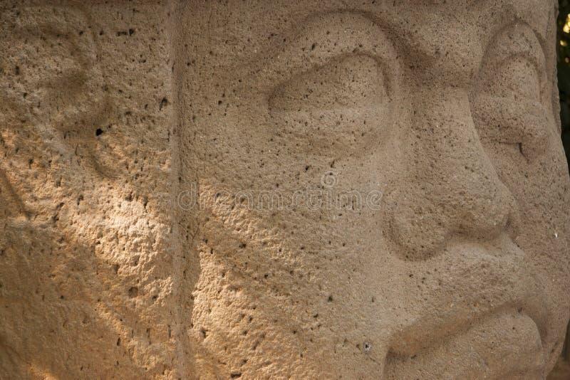 Olmec en kulturLaVenta Villahermosa tabasco Mexico royaltyfri bild