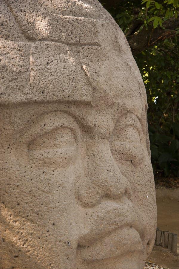 Olmec en Mexico för kulturLaVenta Villahermosa tabasco arkeologi royaltyfri fotografi
