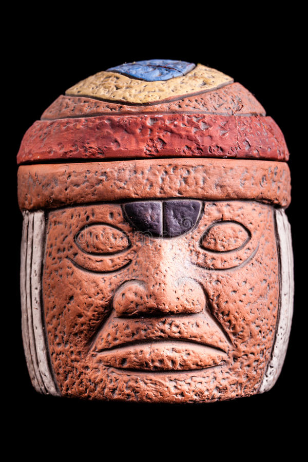 Olmec-Kultur stockbild