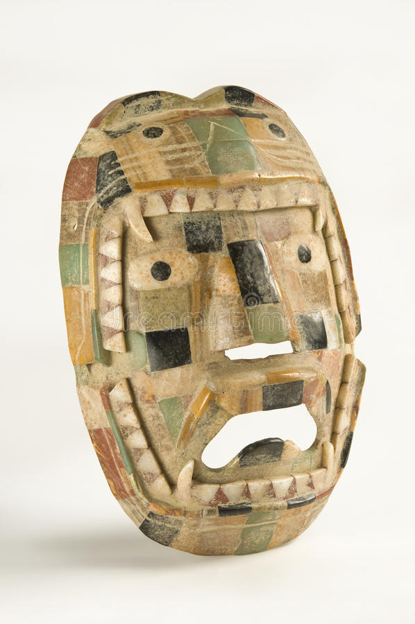 Download Olmec Ritual Mask stock image. Image of history, mosaic - 14855081