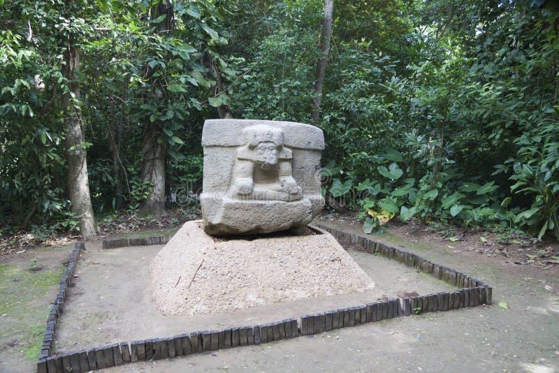 Olmec, Tabasco, Villahermosa, Μεξικό, αρχαιολογία, τουρισμός στοκ φωτογραφία