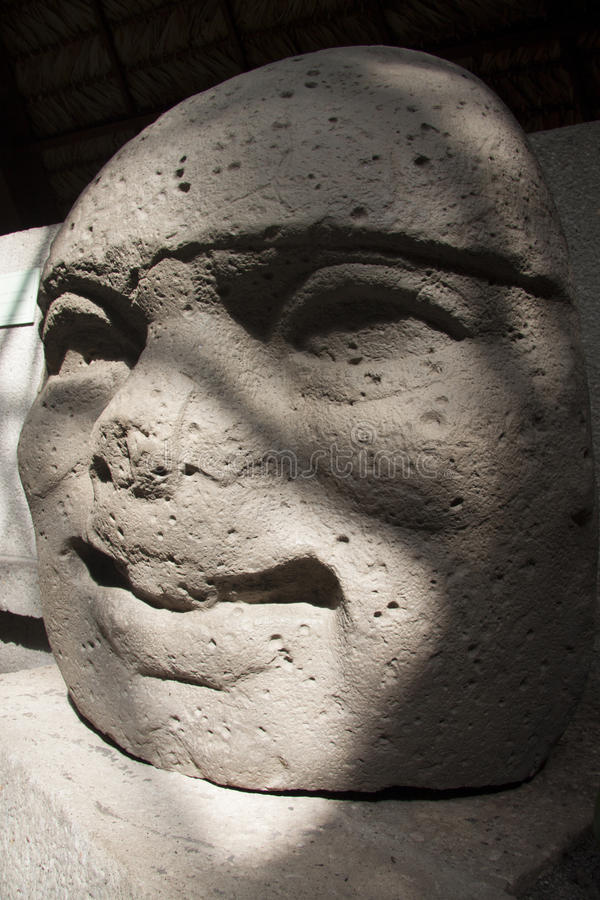 Olmec una arqueología de Venta Villahermosa Tabasco México del La de la cultura fotografía de archivo libre de regalías