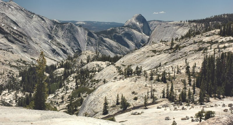 Olmsted Point, Yosemite stock images