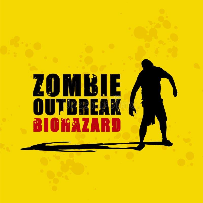 Olocausto 3 dello zombie royalty illustrazione gratis