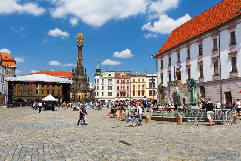 Olomouc, República Checa foto de archivo