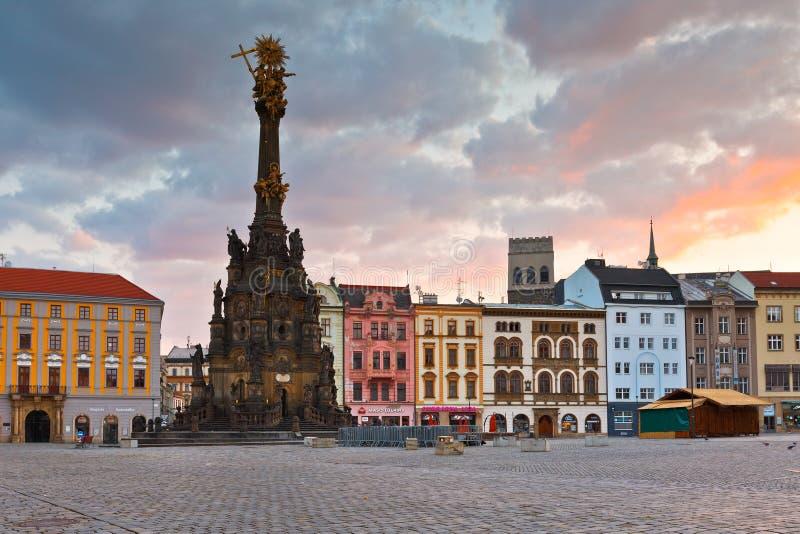 Olomouc, República Checa imágenes de archivo libres de regalías