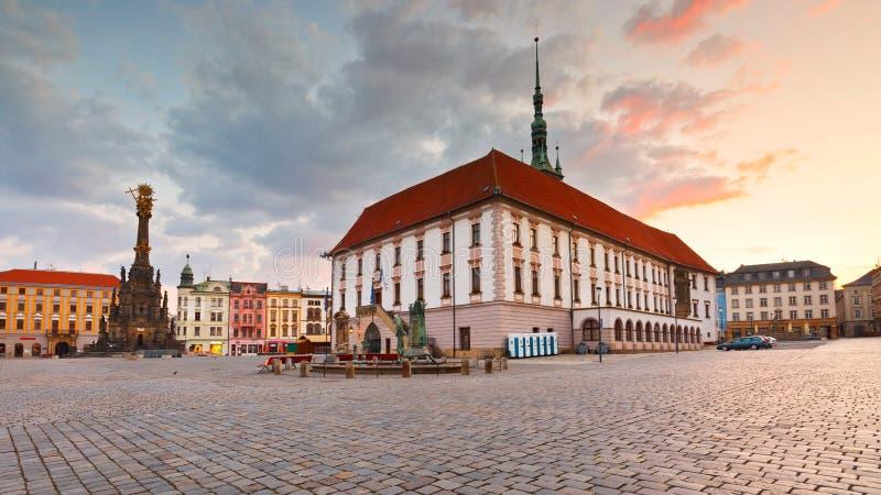 Olomouc, Tschechische Republik stockbilder