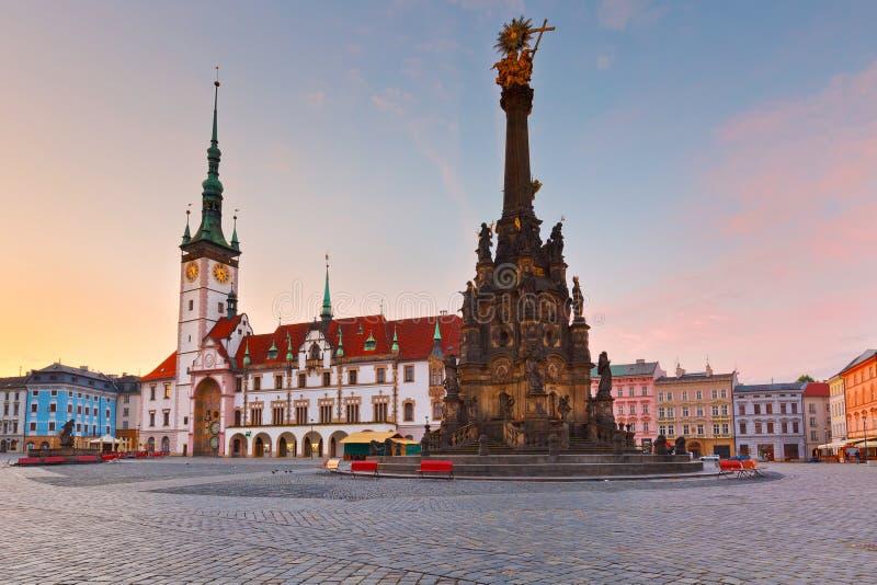 Olomouc, Tsjechische Republiek royalty-vrije stock afbeeldingen