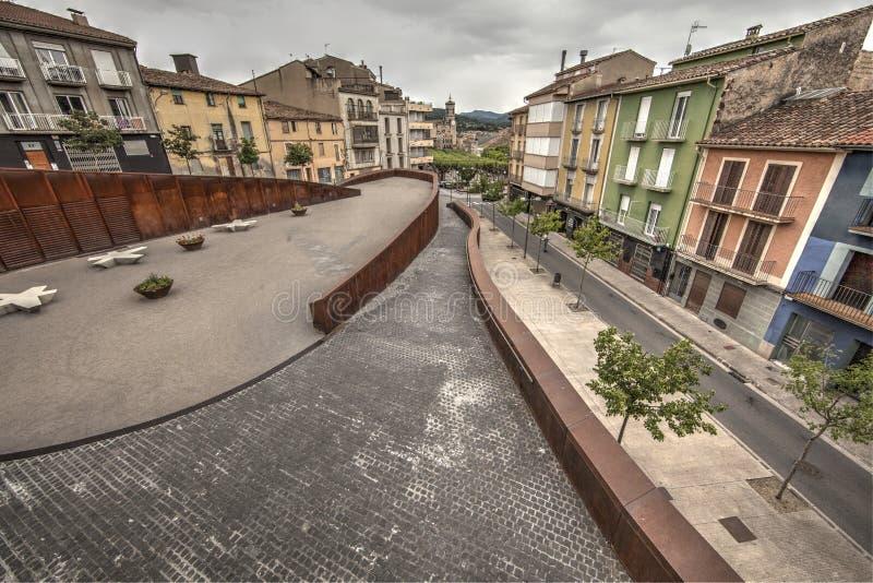 Olot, Gerona, Espagne photographie stock libre de droits