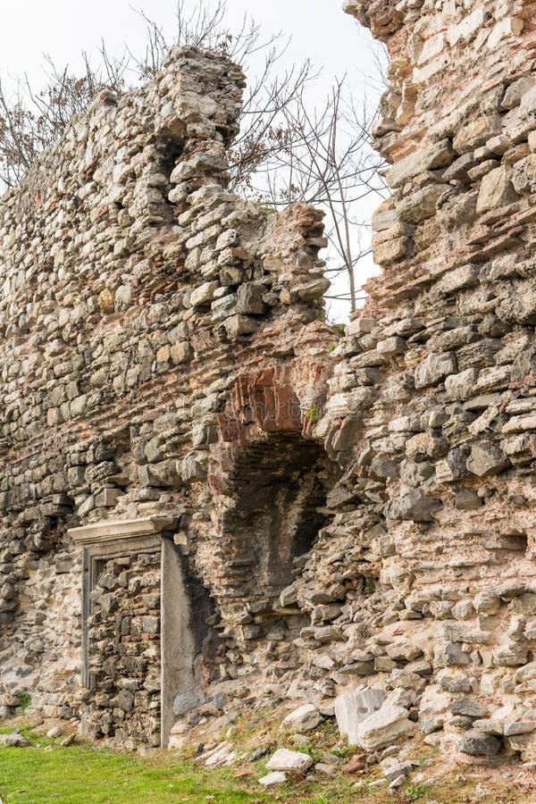 Ols city walls Istanbul royalty free stock images