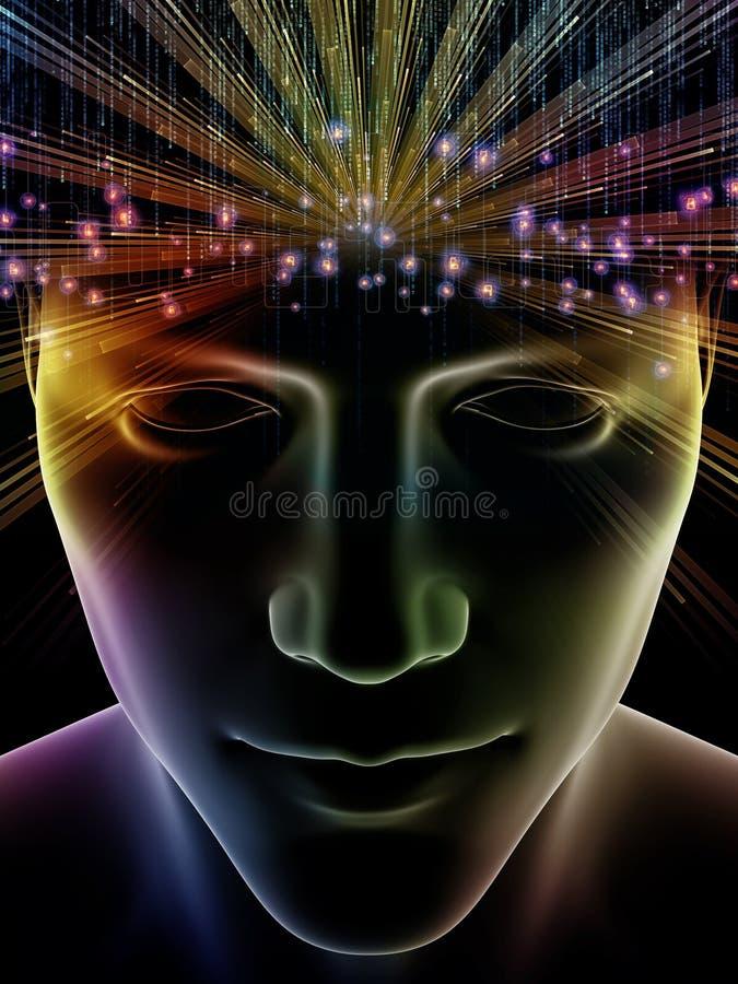 Oltre la mente umana royalty illustrazione gratis