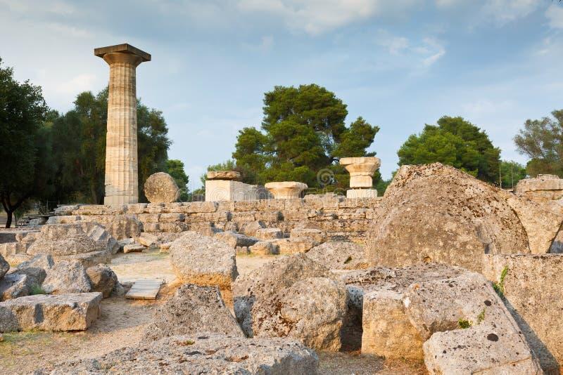 Olympia antica fotografie stock