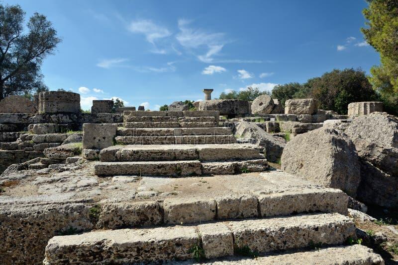 Olympia en Grèce photo stock