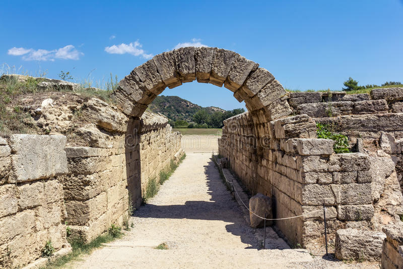 Olympia Grèce images libres de droits