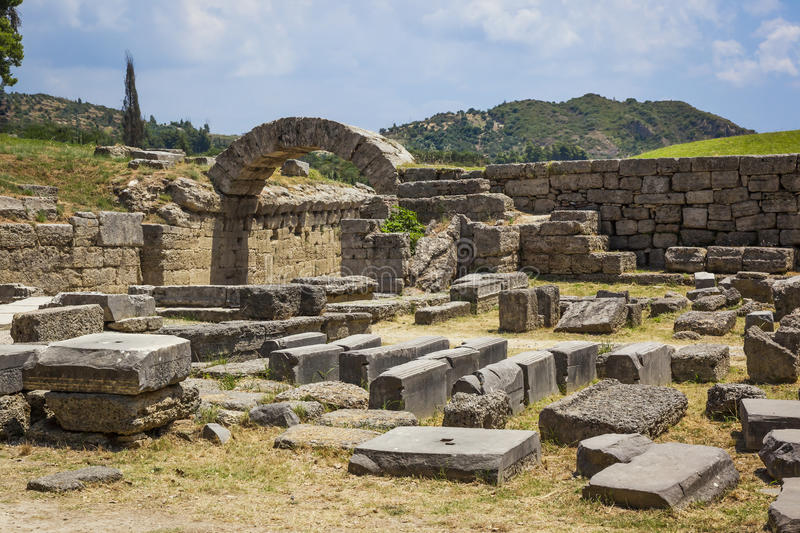 Olympia Greece royalty free stock images