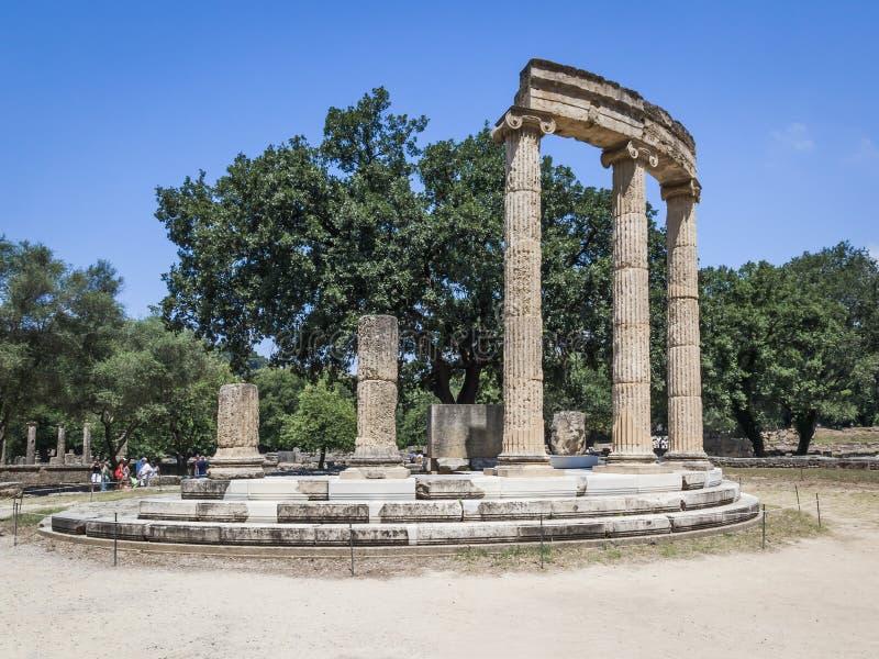 Olympia Grekland arkivbilder
