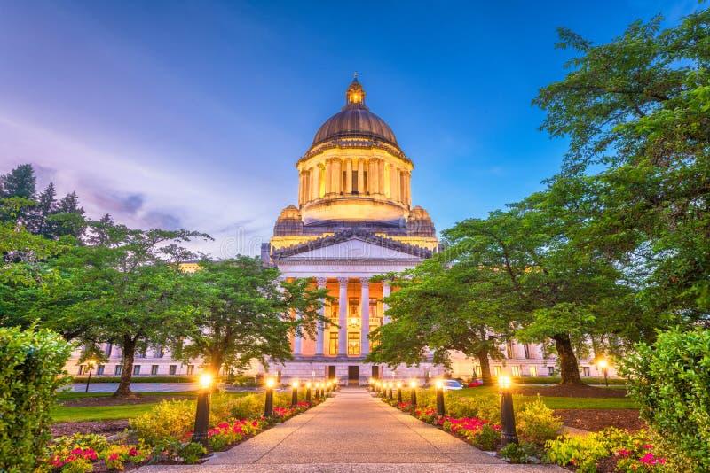 Olympia, het Capitool van Washington, de Staat van de V.S. royalty-vrije stock foto