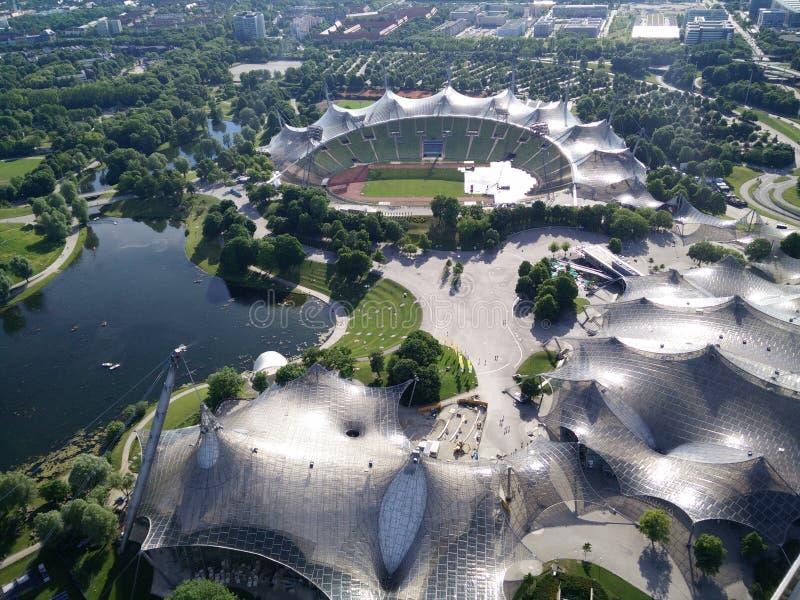 Olympia Park, Munich imagens de stock