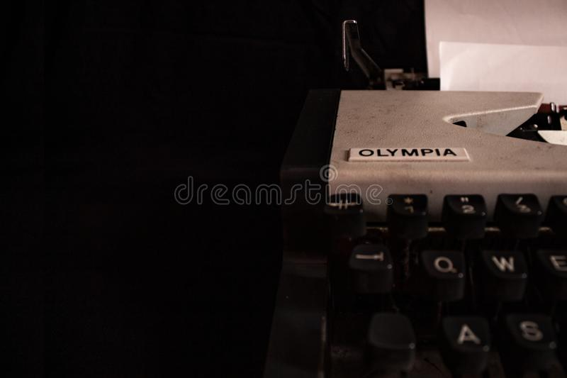 Olympia typewriter royalty free stock image